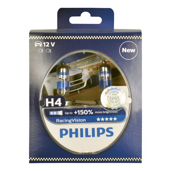 Philips 12342RVS2 H4 Racing Vision