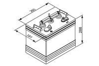 BOSCH Accu / Batterij SLI (0 092 L50 G40)