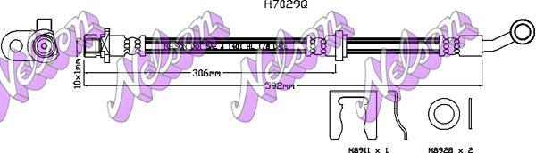 KAWE Hulpcilinder, koppeling (S8102)