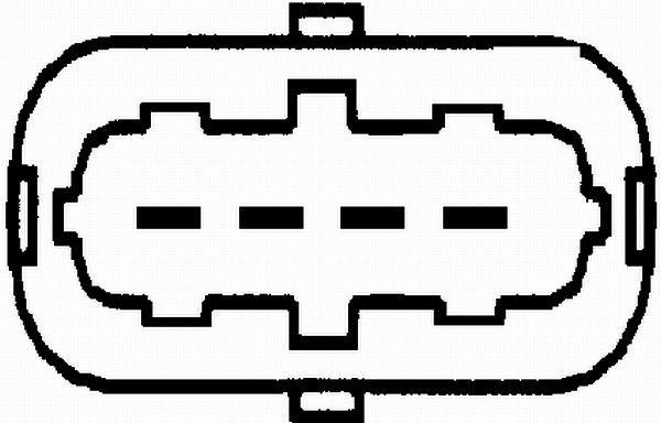 HELLA Luchtmassameter (8ET 009 142-691)