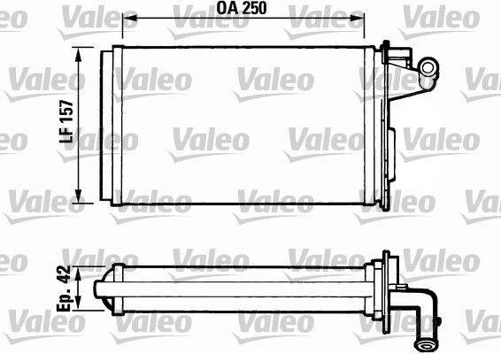 VALEO Kachelradiateur, interieurverwarming (811075)
