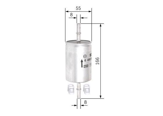 BOSCH Brandstoffilter (0 450 905 316)