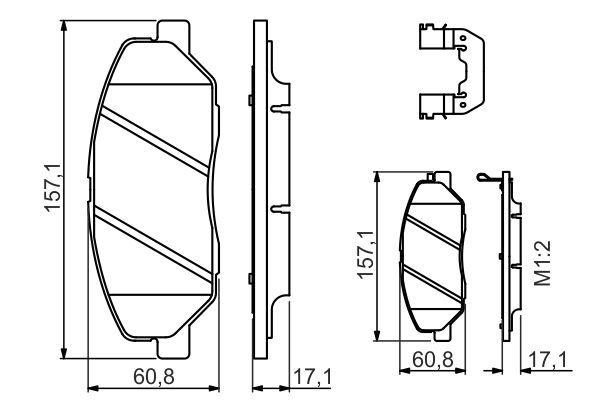 BOSCH Interieurfilter (1 987 432 386)