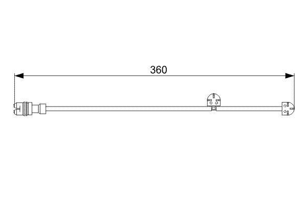 BOSCH Klopsensor (0 261 231 131)