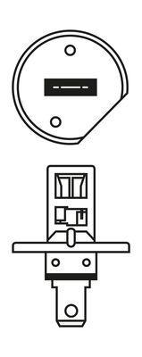 BOSCH Gloeilamp, koplamp Plus 120 Gigalight TWIN (1 987 301 105)