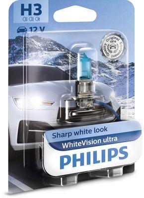PHILIPS Gloeilamp, mistlamp WhiteVision ultra (12336WVUB1)