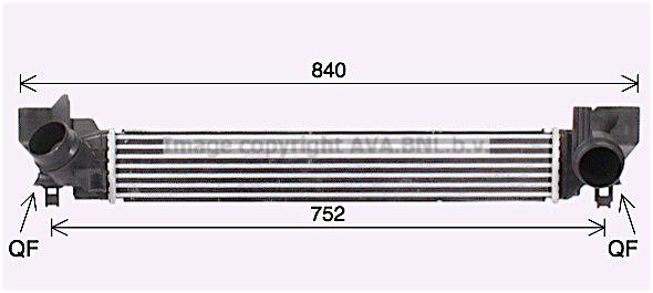 AVA QUALITY COOLING Koelventilatorwiel (AL7023)