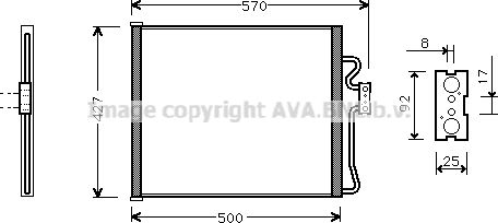 AVA QUALITY COOLING Compressor, airconditioning (ALK009)